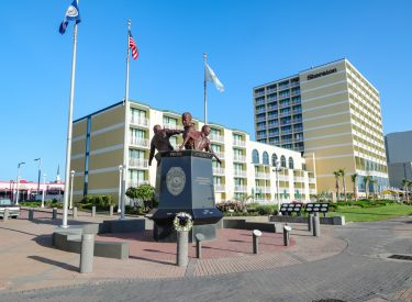 Virginia Beach Law Enforcement Memorial | Virginia Beach, Virginia