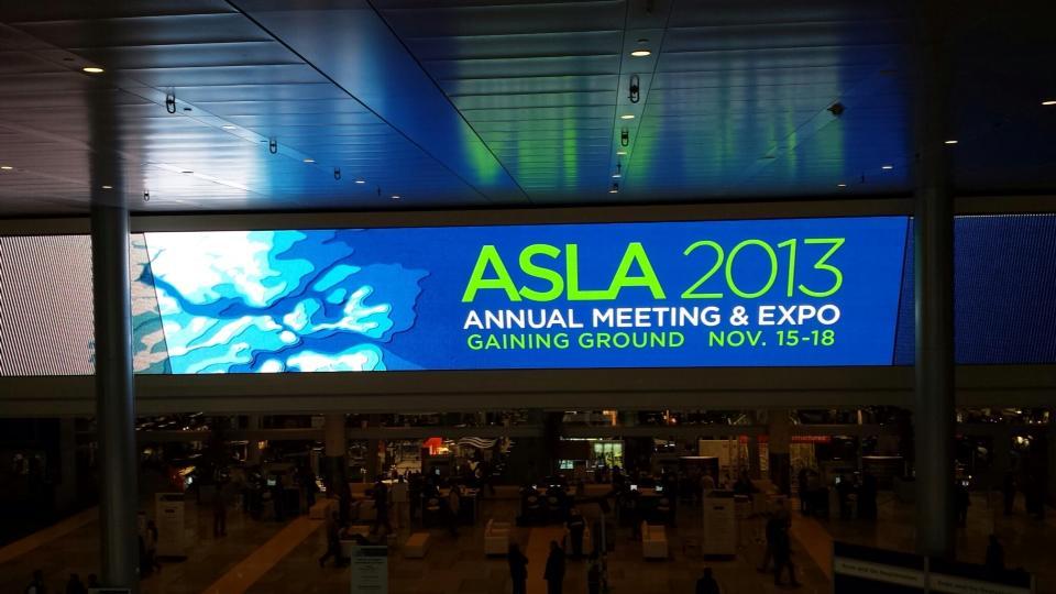 Boston ASLA Conference 2013