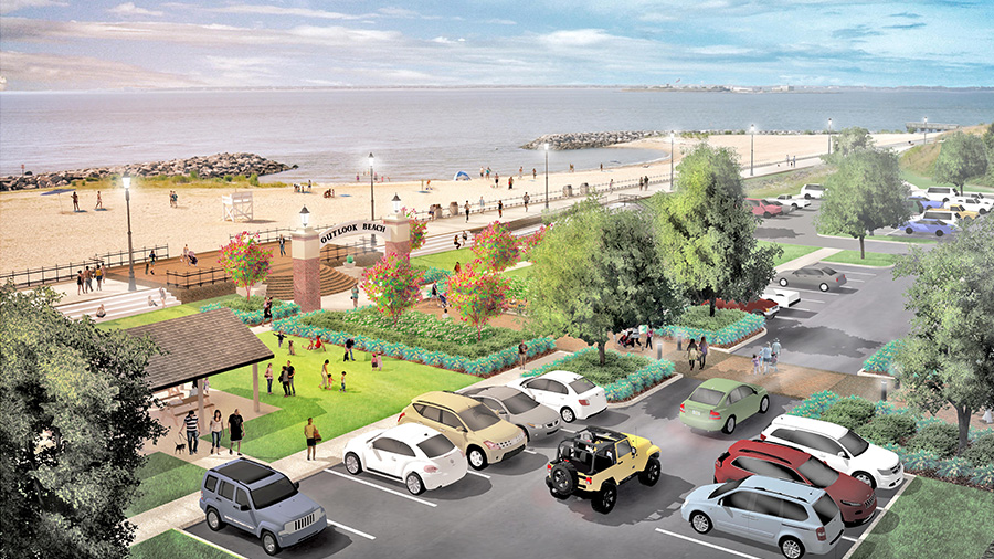 Fort Monroe Waterfront Park and Open Space Masterplan